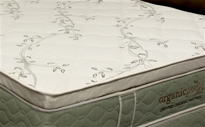 The Allura Natural Rubber Pillow Top 2""