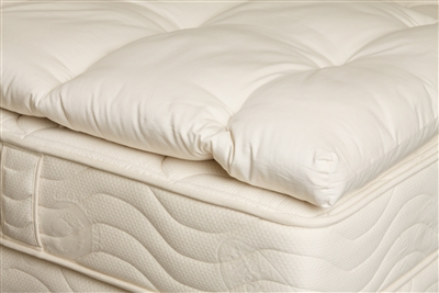 "OrganicPedic 3"" Wooly Pillow Top"