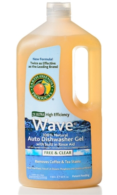 Earth Friendly Wave Auto Dish Gel 40 oz