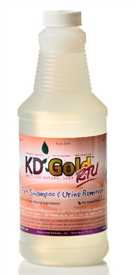 KD Gold Pet Shampoo + Urine Remover