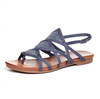 Alpha Denim Sandals