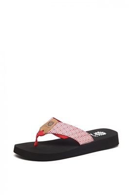 Yellowbox Alister Flip Flop in Red