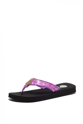 Yellowbox Didi Flip Flop in Purple