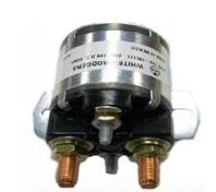 100 amp 4 post Solenoid, 2 large 2 small