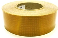 "2"" Yellow Reflective School Bus Tape 150'"