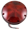 Red Stop Tail Light with 2 Wires