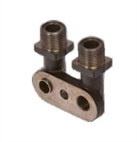 Compressor Fitting Bolt, 3/4 X 7/8 Vertical O-Ring
