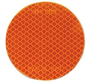 "3"" Round Peel 'n Stick Reflector"