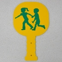 Magnetic Crossing Guard Paddles