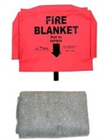 Fire Blanket with pouch