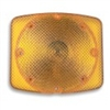 LENS, AMBER 2010, TURN SIGNAL, RECTANGULAR