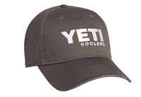 YETI Low Profile Hat-gunmetal gray