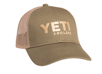 Yeti Traditional trucker-olive green