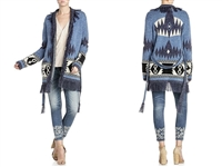 Miss Me Fringe Trim Cardigan