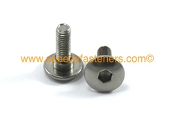 m5 stainless steel fairing bodywork bolts with spacer/collar/shoulder