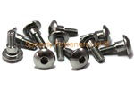 Stainless Steel Motorcycle Fairing Bolts m5 x 16mm with 6mm Shoulder. Yamaha, Suzuki, Honda