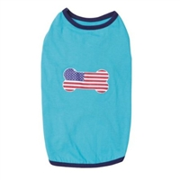 Casual Corner All American Pup Tee-Small