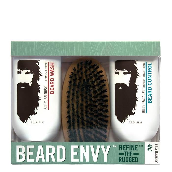 beard envy grooming kit billy jealousy beard envy kit billy jealousy beard envy kit 16611423. Black Bedroom Furniture Sets. Home Design Ideas
