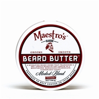 Maestro's Beard Butter - Modest Blend, 6 oz.