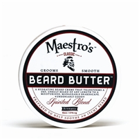 Maestro's Beard Butter - Spirited Blend, 6 oz.