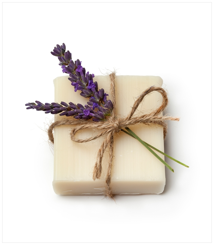 Natural Lavender Vanilla Body Soap
