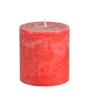 Rose and Pomegranate Scented Pillar Candle