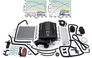 EDELBROCK E-FORCE COMPLETE SUPERCHARGER SYSTEM WITH TUNER FOR 2007-13 GM 1500 TRUCKS (6.2L)  - 1579