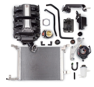 EDELBROCK E-FORCE TUNER COMPETITION SUPERCHARGER SYSTEM FOR 2010 FORD MUSTANG (4.6L 3V)  -- 1587