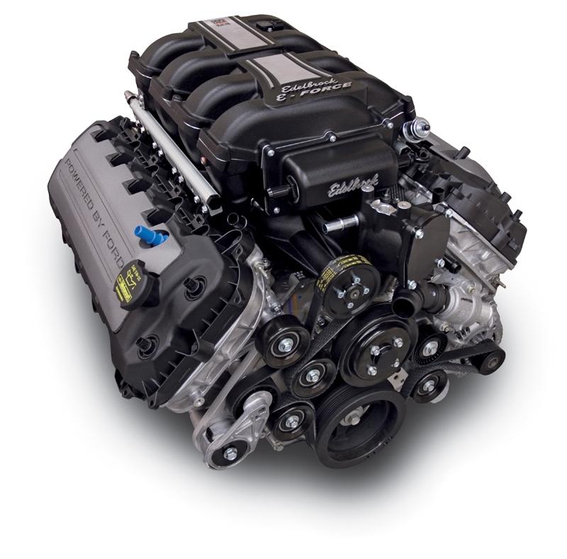 Ford Mustang Edelbrock Supercharger: EDELBROCK E-FORCE COMPLETE SUPERCHARGER SYSTEM WITH TUNER