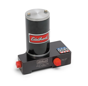 EDELBROCK QUIET-FLO ELECTRIC FUEL PUMP (CARB) 120 GPH- BLACK  - 1791