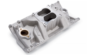EDELBROCK MARINE INTAKE MANIFOLD FOR 1996- LATER CHEVY 262-400 W/ VORTEC HEADS  -- 2516
