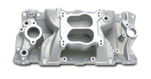 EDELBROCK PERFORMER AIR-GAP (NON-EGR) MANIFOLD FOR SMALL-BLOCK CHEVY V8 - 2601