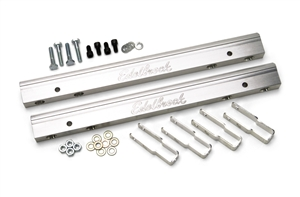 EDELBROCK BIG-BLOCK CHEVY FUEL RAILS (FOR USE WITH #29275 & 29025 AND STANDARD INJECTORS) 3/8 NPT INLET  - 3633