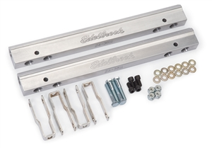 EDELBROCK SMALL-BLOCK CHRYSLER 340/360 FUEL RAILS (FOR USE WITH #28155 AND BOSCH INJECTORS) 3/8 NPT INLET  - 3641