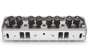 EDELBROCK STREET LEGAL PERFORMER CYLINDER HEADS FOR AMC/ JEEP, WITH EXHAUST CROSSOVER PORT (COMPLETE, SINGLE) - 60139