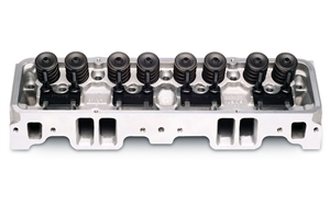 EDELBROCK PERFORMER 70CC CYLINDER HEAD FOR S/B CHEVROLET ('86 & EARLIER) (COMPLETE, SINGLE) - 60759