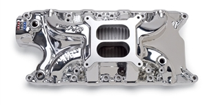 EDELBROCK PERFORMER RPM 302 (NON-EGR) MANIFOLD FOR S/B FORD- ENDURASHINE FINISH  - 71214