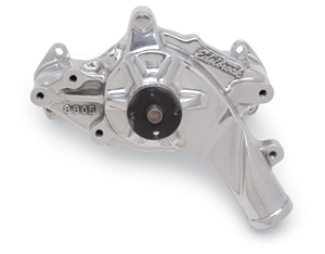 EDELBROCK HIGH PERFORMANCE WATER PUMP FOR 1969-76 352/428 FORD FE- POLISHED FINISH  - 8835