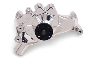 EDELBROCK HIGH PERFORMANCE LONG WATER PUMP FOR B/B CHEVY- ENDURASHINE FINISH  - 88514