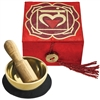 "Mini Meditation Bowl Box: 2"" Root Chakra"