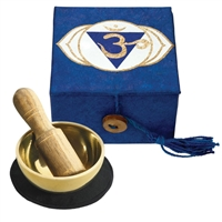 "Mini Meditation Bowl Box: 2"" THIRD EYE CHAKRA"