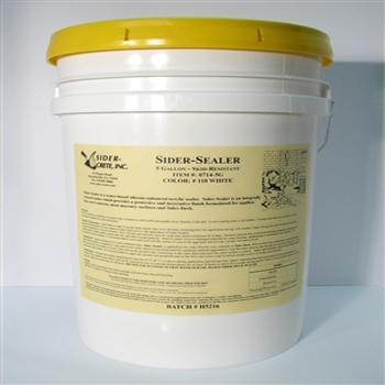 Sider-Sealer - 5 Gallons - Colored Concrete Sealer