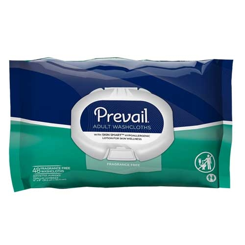 prevail adult wash cloths