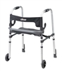 Clever Lite LS Adult Wheeled Walker with Seat by Drive Medical