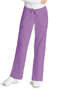 Adar Women's Low-Rise Drawstring Straight Leg Pants