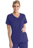 Grey's Anatomy Active V-Neck Top with Side Panels #41423