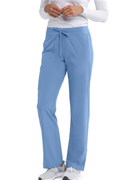 Barco One Women's Mid Rise Cargo Scrub Pant