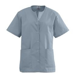 AngelStat Snap-Front Scrub Top