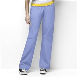 WonderWink Origins Women's Full Elastic Pull-on Scrub Pants