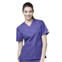 WonderWink Origins Women's V-Neck Scrub Tops- Bravo #6016